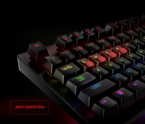 Az ADATA XPG bemutatja az INFAREX K20 gaming billentyűzetet