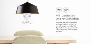 Alfawise PIR Sensor LED Bulb