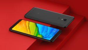 Xiaomi Redmi 5 Plus 4G Phablet 3GB RAM Global Version - BLACK