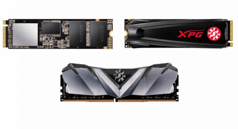 Az ADATA bemutatja az XPG SX8200 Pro SSD-t, a GAMMIX S5 SSD-t és a GAMMIX D30 DDR4 memóriát