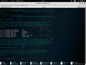OpenVPN crt, key, dh generálása Ubuntu 18.04 LTS, vagy újabb Debian alapú rendszeren