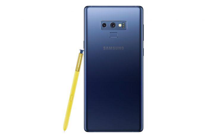 Samsung Galaxy Note 9 bemutató