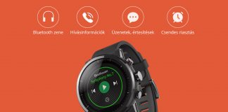 Xiaomi Amazfit Stratos okosóra kicsomagolás és bemutató