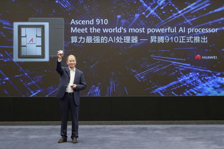 A világ legerősebb AI processzorát mutatta be a Huawei