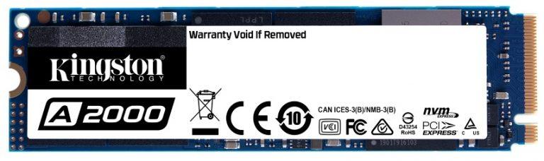 A Kingston notebook használóknak készített öntitkosító NVMe PCIe SSD-t
