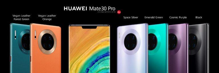 A Huawei bemutatta Mate 30 sorozatának készülékeit