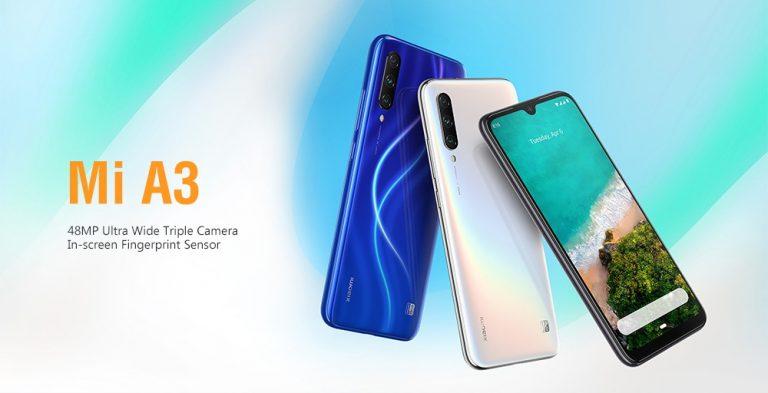 Xiaomi Mi A3 teszt és bemutató
