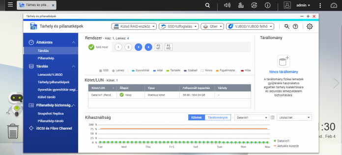 Meghibásodott meghajtó cseréje QNAP hálózati eszközön | NAS