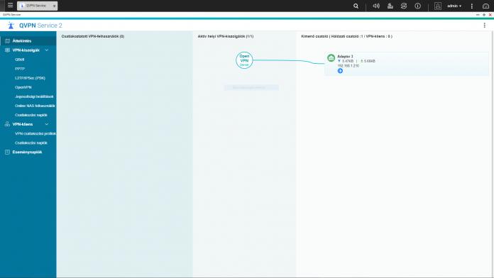 Több OpenVpn felhasználó, és a vpn jogosultságok beállítása | QNAP NAS