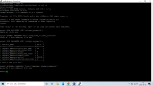 A mysql> parancsok hasznosak! | Ubuntu 20.04 LTS | mysql-server és password_policy probléma | phpmyadmin